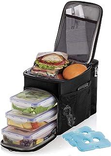 Fun Lunch Cool Bag-Nouveauté Funky Design Isotherme Glacière Aliments réfrigérés Box 21 cm
