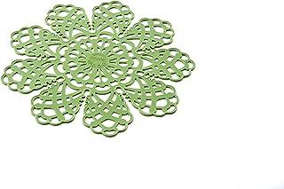 SPOT02 Safe Pot - Salva-Sartenes de Silicona, Color Verde; Dimension Ø28 cm