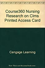 Course360 Nursing Research on CLMS Printed Access Card