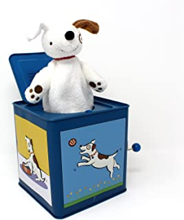 Jack The Dog Tin Jack in The Box