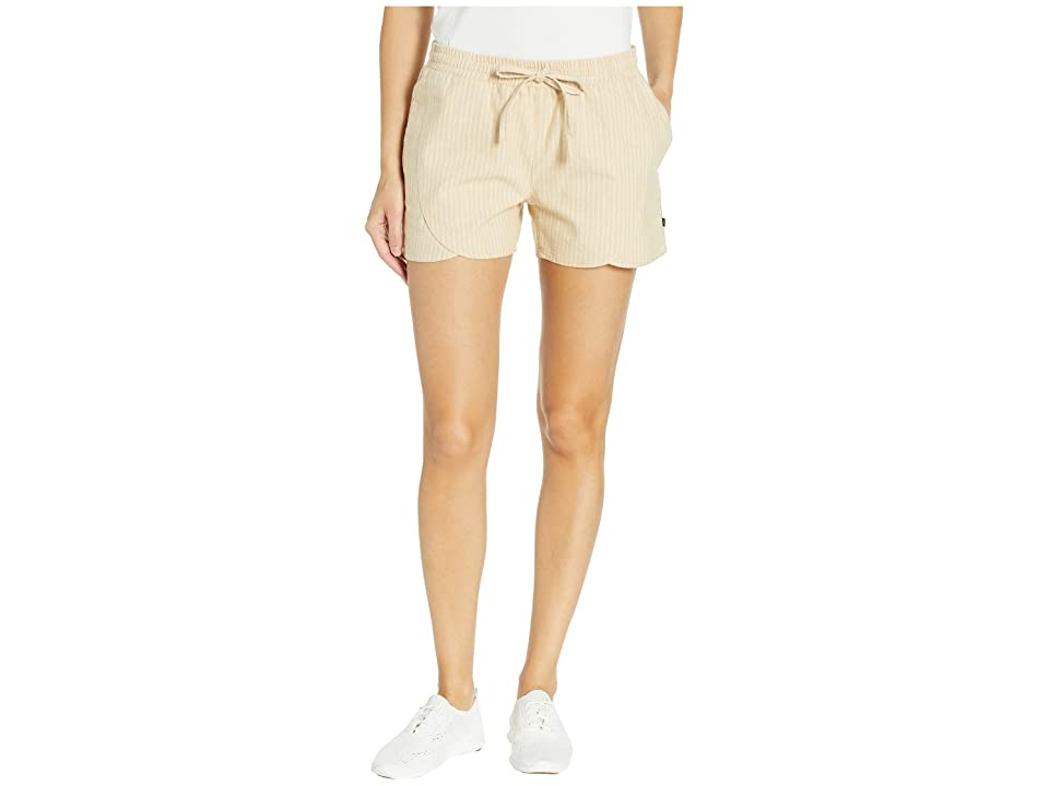 United By Blue Foothills Drawstring Shorts (Sand) Women