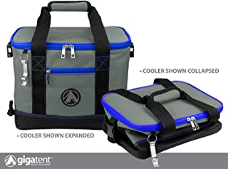 GigaTent Insulated Collapsible Cooler – Soft Lunch Box with Bottle Opener for Camping, Beach and Travel – Lightweight and Tear Resistant Fabric (Large - 18