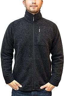 WoolX Aspen Merino Wool Quarter Zip Up Heavyweight Outdoor Sweater