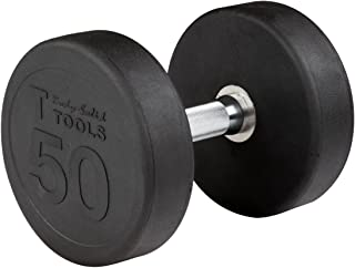 Body-Solid Rubber Round Dumbbell Singles 5-100 lbs.