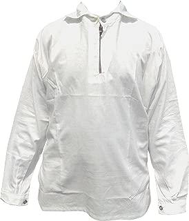 Revolutionary War Era Bleached Cotton Shirt Replica - White