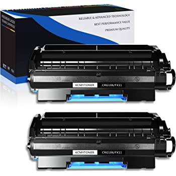 Black, 4-Pack GREENCYCLE 5000 Pages per High Yield Toner Cartridge Replacement Compatible for Canon 106 CRG106 0264B001AA Used in imageClass MF6530 MF6550 MF6560 MF6580 MF6590 MF6595 Laser Printer