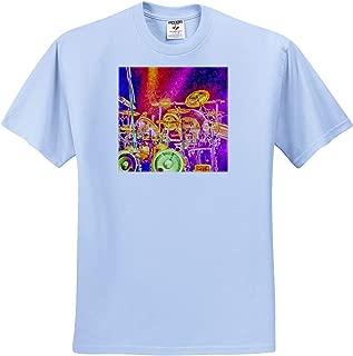 - T-Shirts Fishing 3dRose Macdonald Creative Studios Nautical and Fishing Design with Ship Anchor and Sailfish