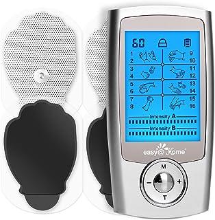 comprar comparacion Easy@Home Alivio del dolor Electroestimulador TENS y electroestimulación muscular Rehabilitación EMS Masajes para el alivi...