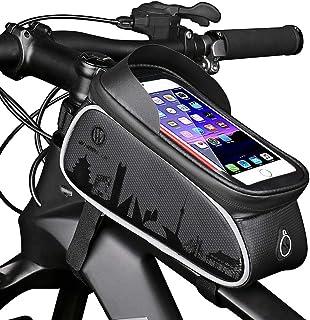 comprar comparacion HEKIWAY Bike Frame Bag Impermeable bicicleta Bolsa para bicicleta Bolsa de almacenamiento de gran capacidad con orificio p...