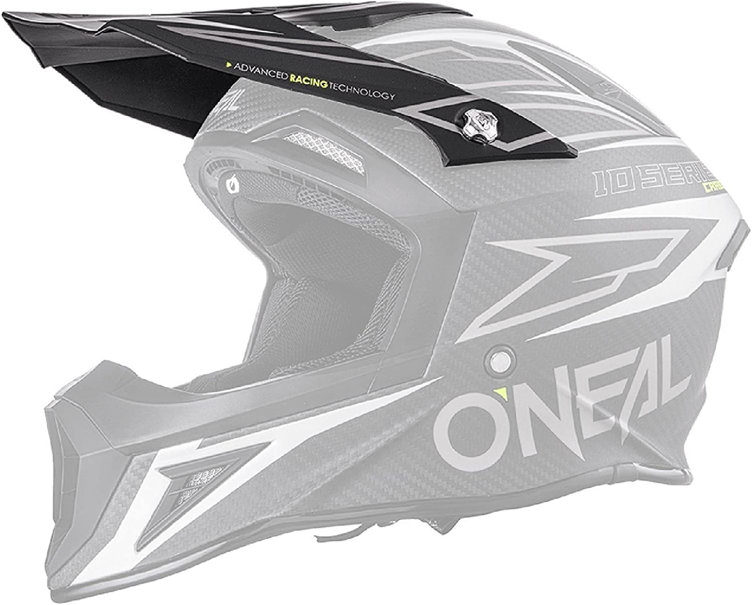O'Neal 1 Max 66% OFF Series Unisex-Adult Race Visor Over item handling Spare Size Carbon One