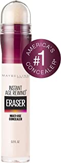 Maybelline Instant Age Rewind Eraser Dark Circles Treatment Concealer, Cool Ivory, 0.2 Fl Oz (1 Count), (Packaging May Vary)