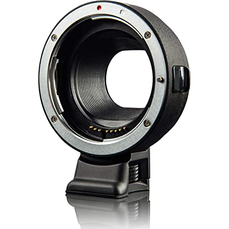 Viltrox EF-EOS M Electronic AF Auto Focus Lens Mount Adapter for Canon EF/EF-S Lens to Canon EOS-M (EF-M Mount) Mirrorless Camera M1 M2 M3 M5 M6 M10 M50 M100