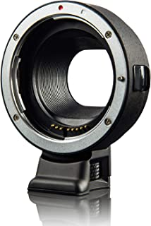 Viltrox EF-EOS M Electronic AF Auto Focus Lens Mount Adapter for Canon EF/EF-S Lens to Canon EOS-M (EF-M Mount) Mirrorless...