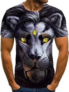 SSBZYES Camisetas De Talla Grande para Hombre Camisetas De Manga Corta De Talla Grande para Hombre Camisetas De Impresión ...