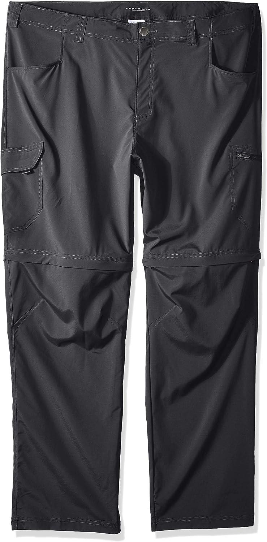Columbia Men's BigTall Silver Ridge Stretch Congreenible Pants, 46  x 34 , Grill