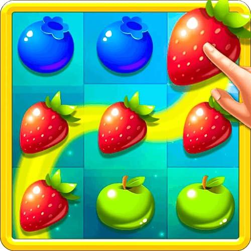 Fruit Link Smash Mania: Kostenloses 3-Gewinnt-Spiel