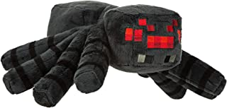 JINX Minecraft Spider Plush Stuffed Toy (Black, 13