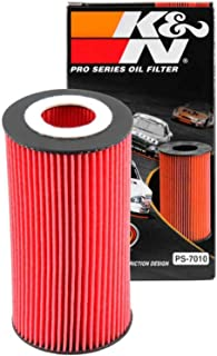 K&N Premium Oil Filter: Designed to Protect your Engine: Compatible with Select AUDI/FORD/VOLVO/VOLKSWAGEN Vehicle Models (See Product Description for Full List of Compatible Vehicles), PS-7010