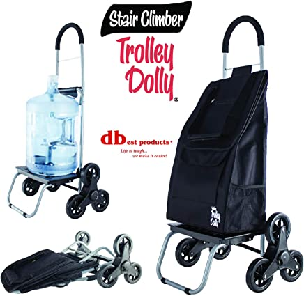 Pack of 3 TigerChef PLTCD005@3PK Trash Can Dollies Black 5 Caster