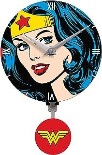 Nj Croce Plastic Analog Clock - Wall Clocks, AA Multicolor