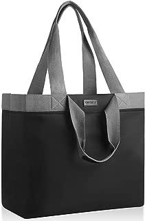 CHICECO 35L Tote Bag for Work Beach Travel Utility Bag - XXL, Black Grey