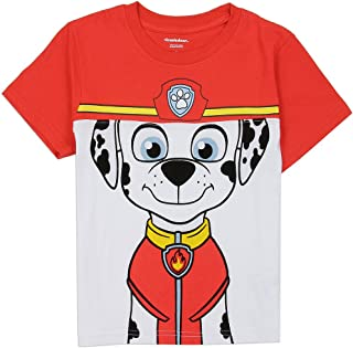 Paw Patrol Little Boys' Chase Marshall Colorblock Tee