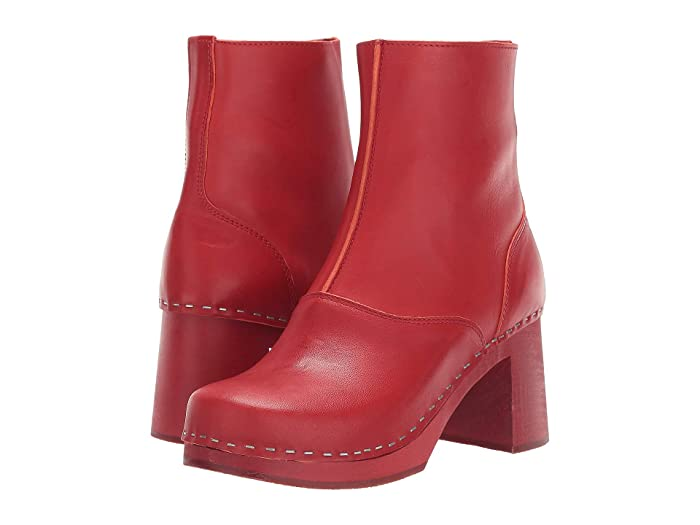 Vintage Boots- Buy Winter Retro Boots Swedish Hasbeens 60s Boot Red Womens Shoes $216.00 AT vintagedancer.com