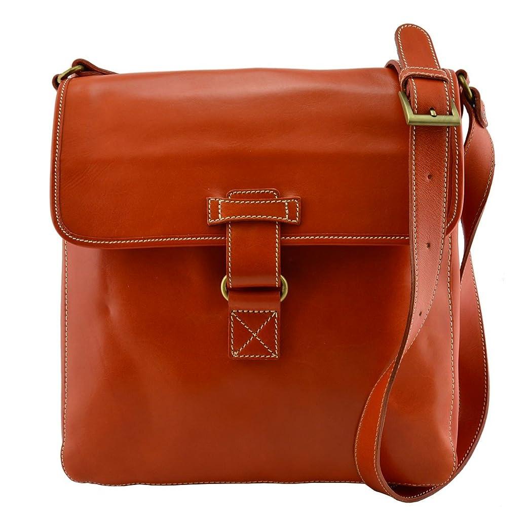 エクスタシー消毒するデコレーションDream Leather Bags Made in Italy Genuine Leather メンズ US サイズ: 1 カラー: オレンジ