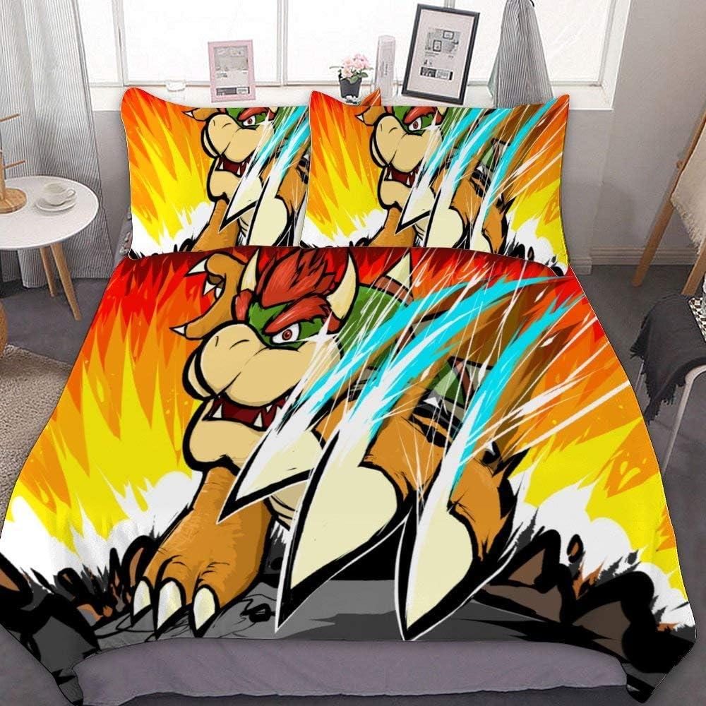 Super Mario Single//Double//Queen//King Bed Doona//Duvet//Quilt Cover Set Pillowcase