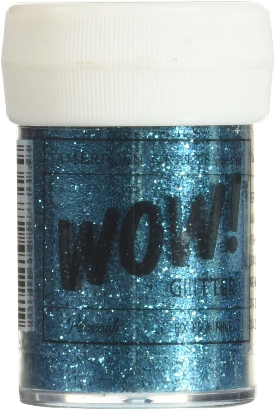 American Crafts 27316 Glitter OFFicial Super sale Peacock Extra Fine