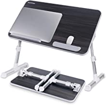 Laptop Bed Tray Table, Nearpow Adjustable Laptop Bed Stand, Portable Standing Table with Foldable Legs, Foldable Lap Table...