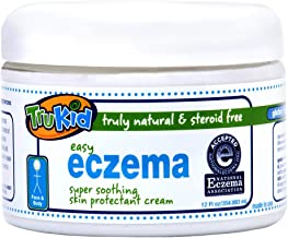 TruKid Easy Eczema Cream - Soothing and Healing Relief Therapy for Sensitive Skin, Unscented, 12 oz