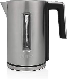 Bouilloire à température réglable Princess Quick Boil Deluxe - 1,7 L - 3 000 W - Acier inoxydable