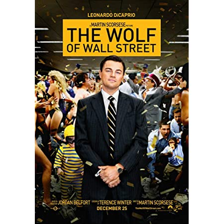 DELIVERY in 24//48h! Poster wolf of wall street wolf leonardo pelicua scorsese
