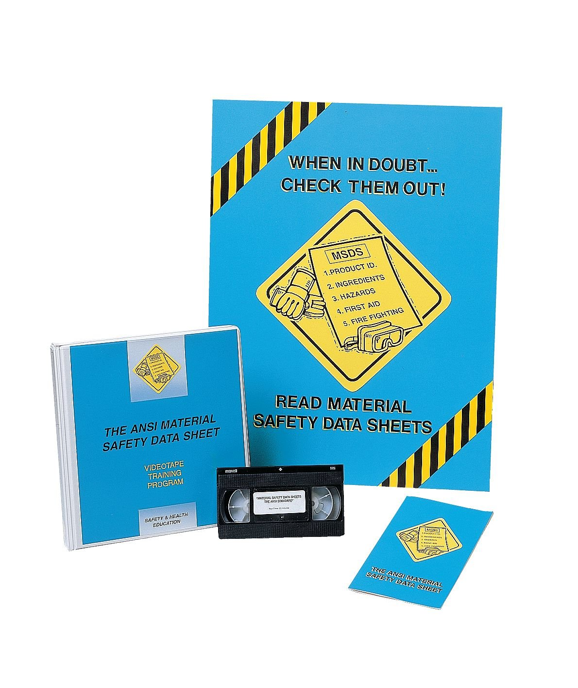 Marcom Group V000MHS9EM Materials DVD Handling Safety Sales Price reduction Training