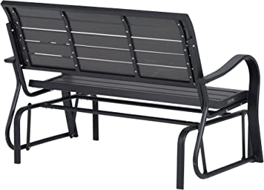 Lifetime 60276 Glider Bench, Harbor Gray