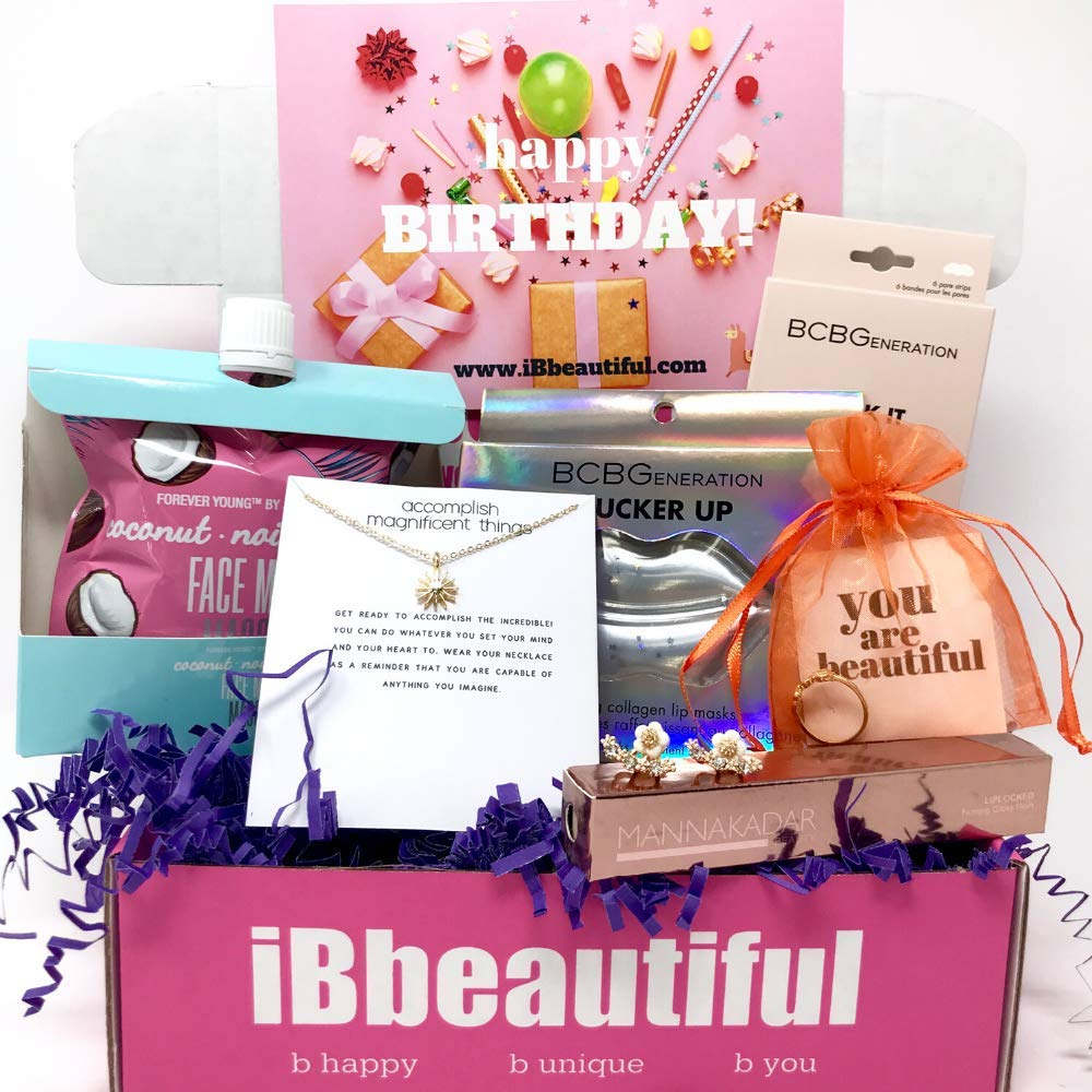 Birthday Gift Box for Teen Girls ages 20, 20, 20, 20. Best Birthday gifts  for girls.