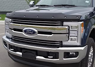FormFit Textured Black Tough Guard Hood Protector Bug Shield Deflector Fits 2017-2018 Ford F-250 F-350 Super Duty