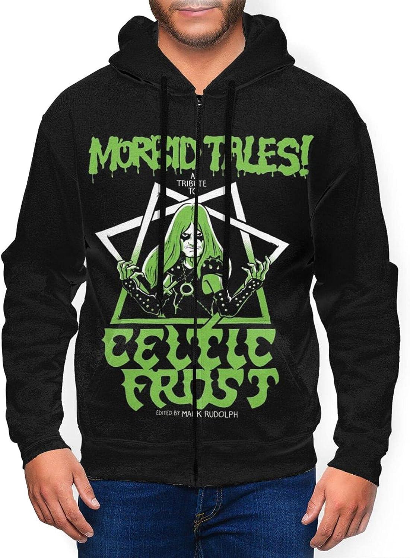 Celtic Frost Men'S Bargain Hooded Zipper Coa Jacket Casual NEW before selling ☆ Classic Shirt