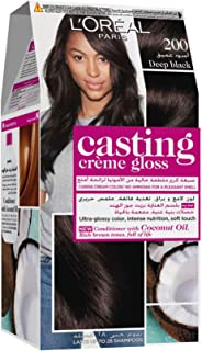 L'Oreal Paris Casting Creme Gloss 200 Ebony Black Haircolor