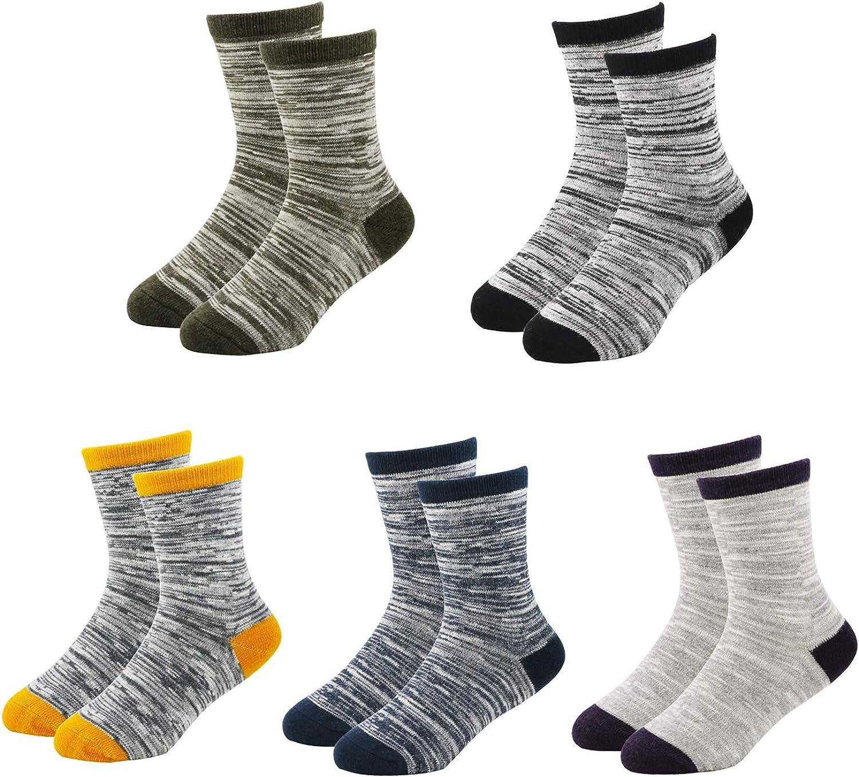 Kaariss Kids Boys Fashion Cotton Soft Socks 5 Pairs Pack