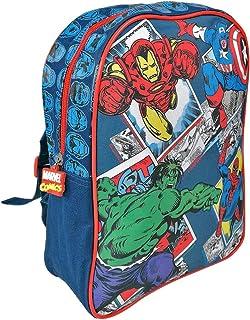 11ff9e7b7b Petit Sac à Dos pour Enfants Marvel Avengers - Cartable Scolaire Les  Vengeurs - Captain America Spiderman Hulk Iron Man - Sac d'école pour Le  Jardin ...