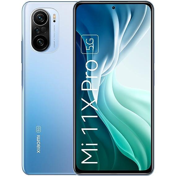 MI 11X Pro 5G (Celestial Silver, 8GB RAM, 256GB Storage)   Snapdragon 888   108MP Camera   Upto 2000 Additional Exchange