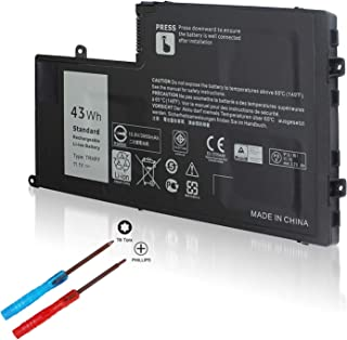 43WH TRHFF P39F Notebook Battery for Dell Inspiron 15 5000 Series 5547 5548 5447 5542 5445 5448 5545 i5547-3750sLV Latitude 14 3450 15 3550 0PD19 1V2F6 DL011307-PRR13G01 58DP4-12 Month Warranty