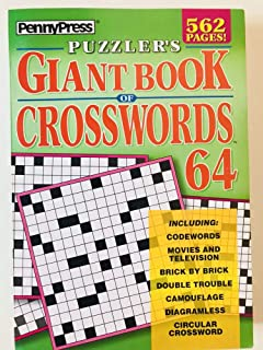 Volume 64 of the Puzzlers Giant Book of Crosswords Penny Press