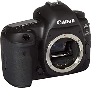 Canon EOS 5D Mark IV Full Frame Digital SLR Camera Body (Certified Refurbished)