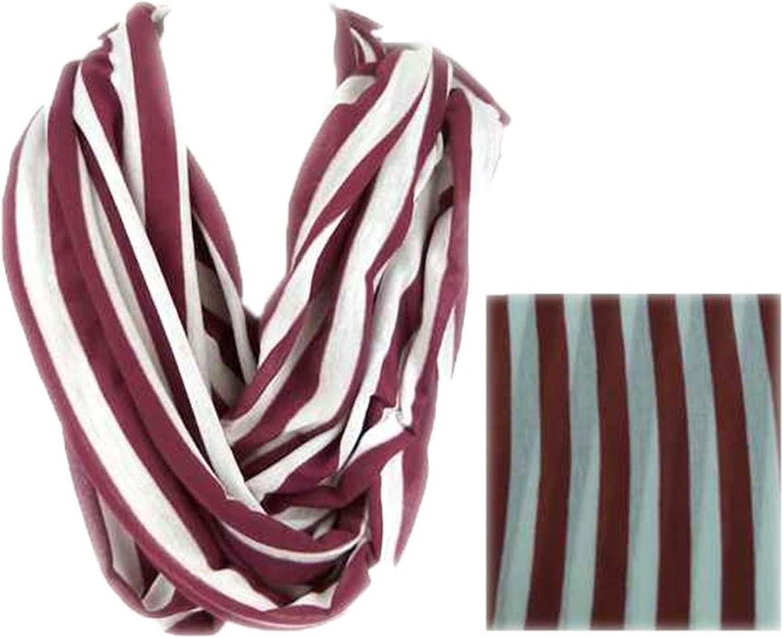 White & Maroon Stripe 72