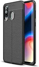 Wuzixi Case for SamsungGalaxyA01. Double Layer Professional Anti-collision Cover, Durable,Four Corners Thickened, Cover Case for SamsungGalaxyA01.Black