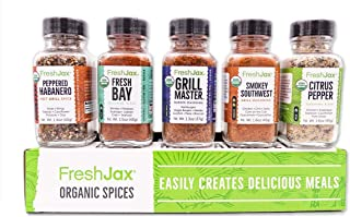 Best FreshJax Grilling Spice Gift Set, (Set of 5) Review