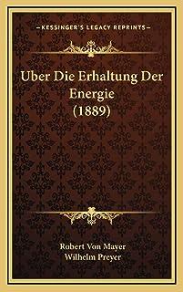 Uber Die Erhaltung Der Energie (1889)